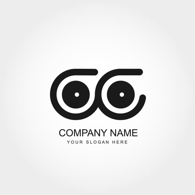 Initial Letter Cc Logo Template Vector Design Template for Free.