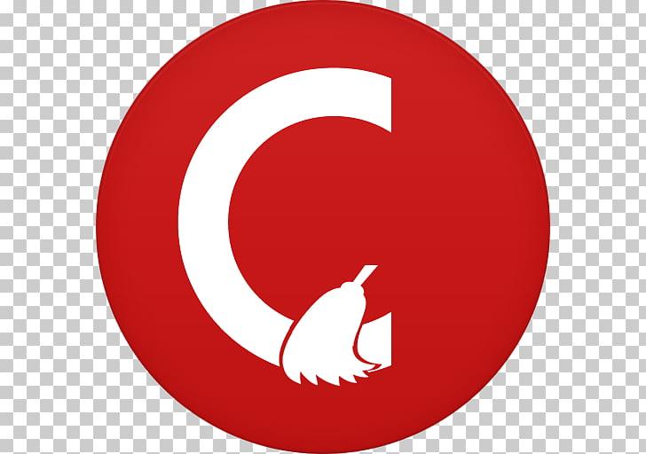 Symbol circle font, Ccleaner, red and hwite C logo PNG.