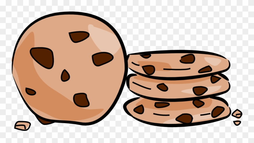 Cookie Clip Art Clipart Chocolate Chip Cookie Biscuits.