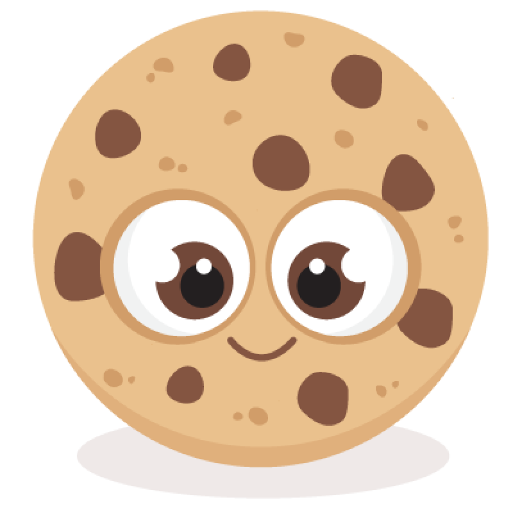 Clipart cookies chocolate chip cookie, Clipart cookies.