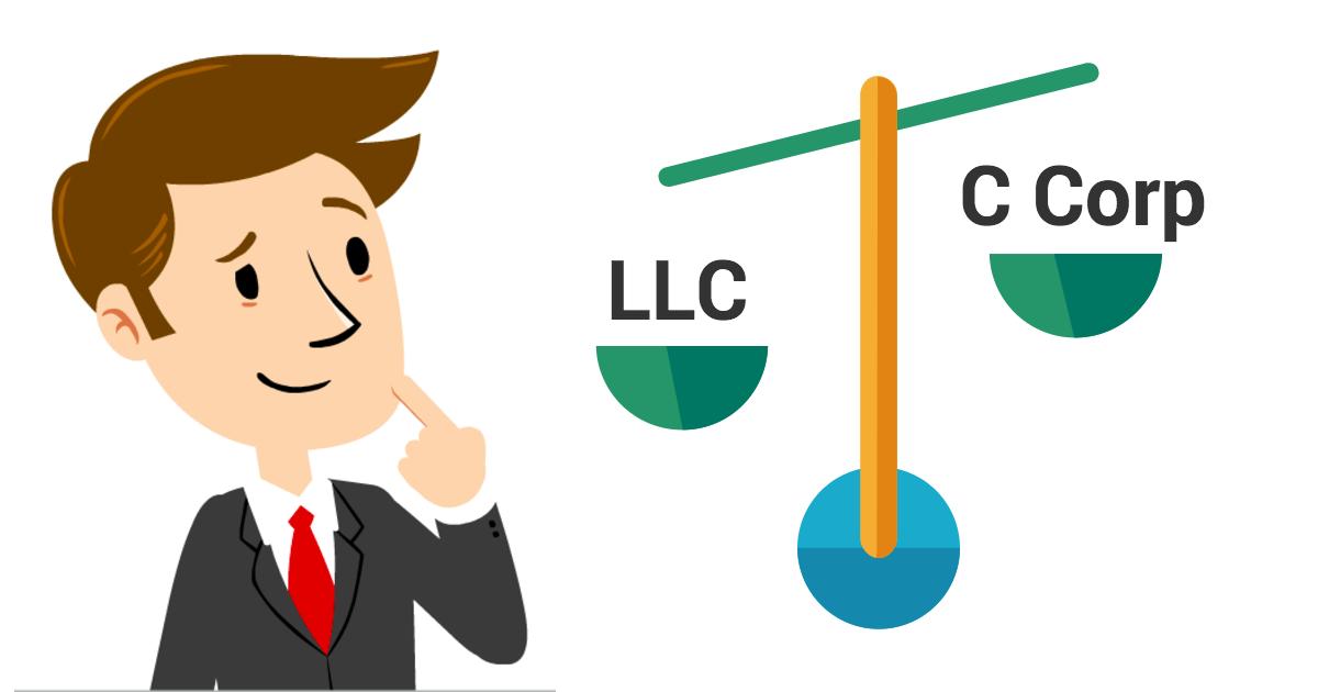 Business Entity Comparison Chart.