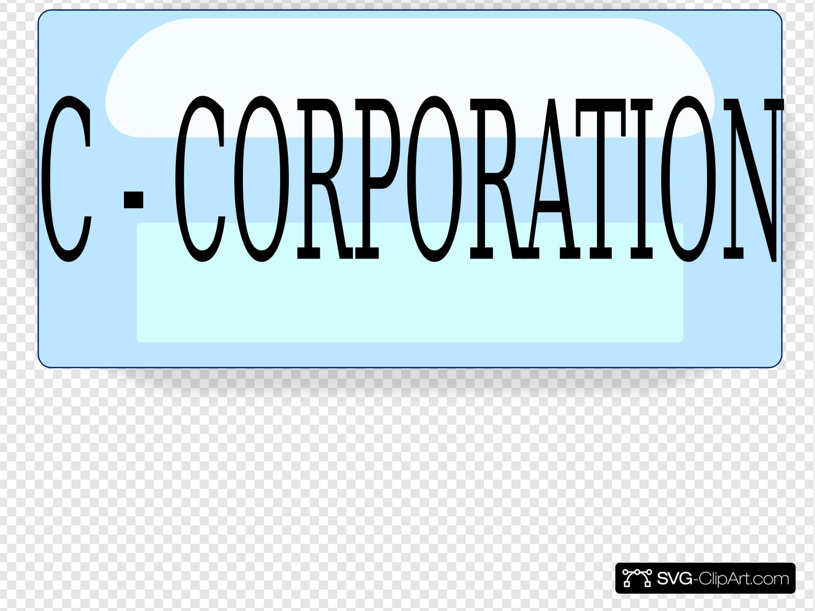 C Corp Clip art, Icon and SVG.