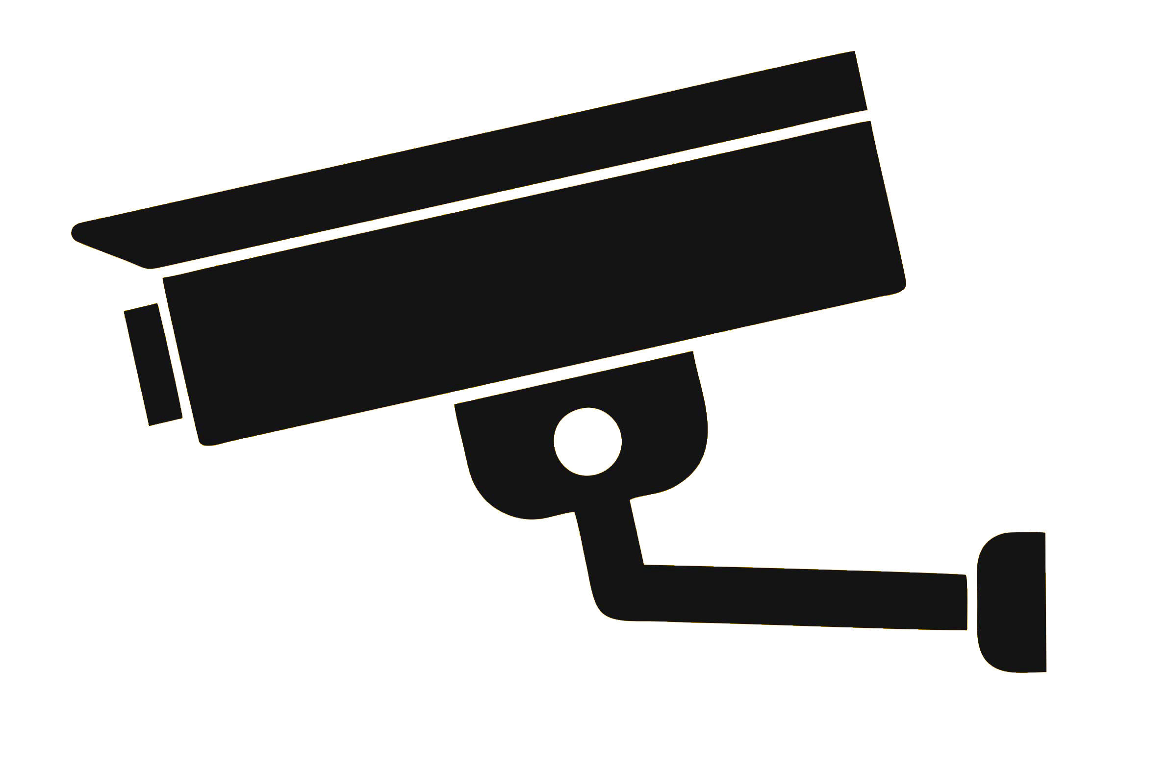 Wireless security camera Clip art Closed.