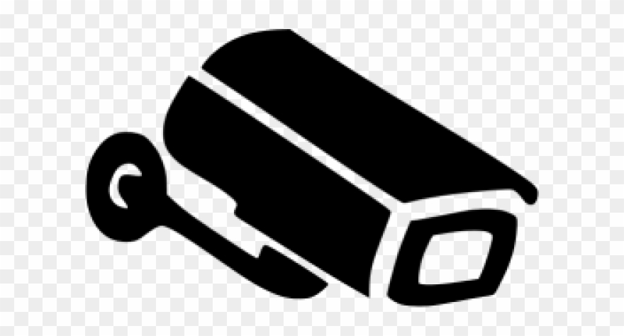 Security Camera Icon Black Clipart (#764249).