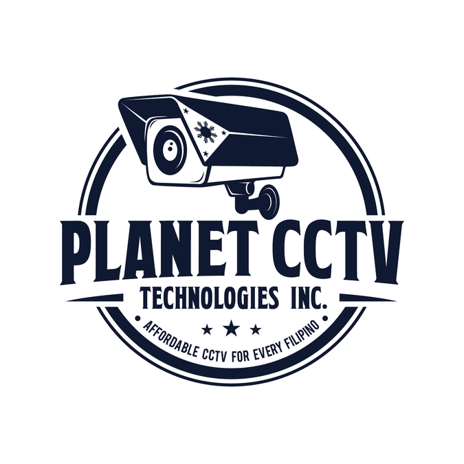 Eye catching logo for CCTV Surveillnace provider and network.