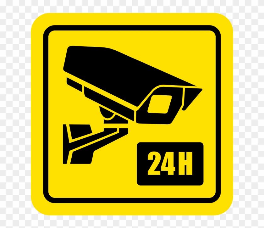 24 Hour Video Camera Sign.