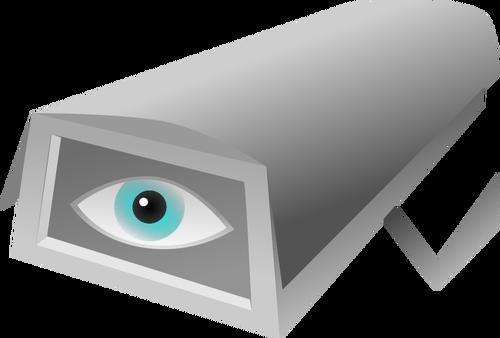 CCTV vector image.
