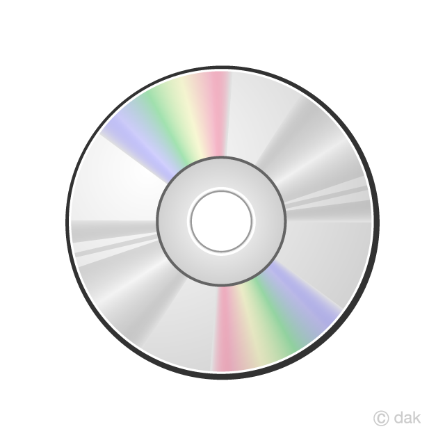 Free CD Clipart Image|Illustoon.