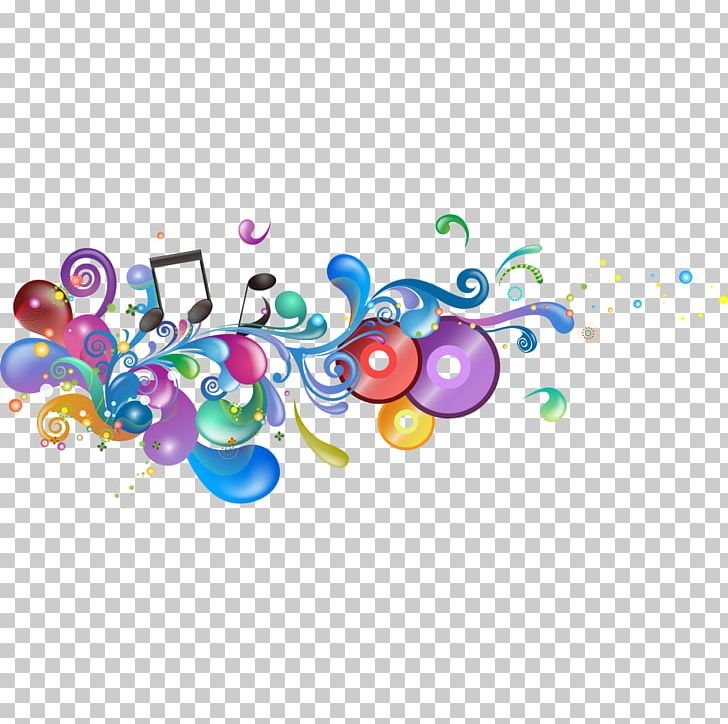 Music PNG, Clipart, Background, Cd Material, Circle.