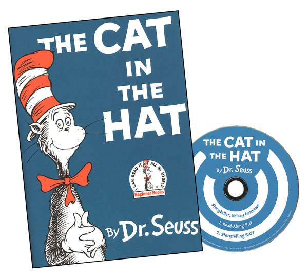 Cat in the Hat (Book & CD) (018043) Details.