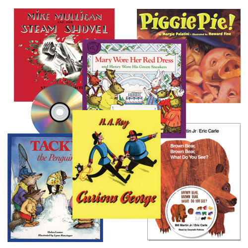 Classic Read Aloud Book and CD Set (Set of 6).