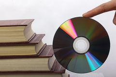 Books And CD Royalty Free Stock Images.