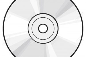 Cd clipart black and white » Clipart Station.