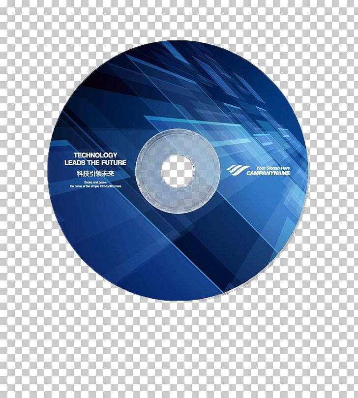 Compact disc Optical disc DVD, Blue DVD disc buckle creative.