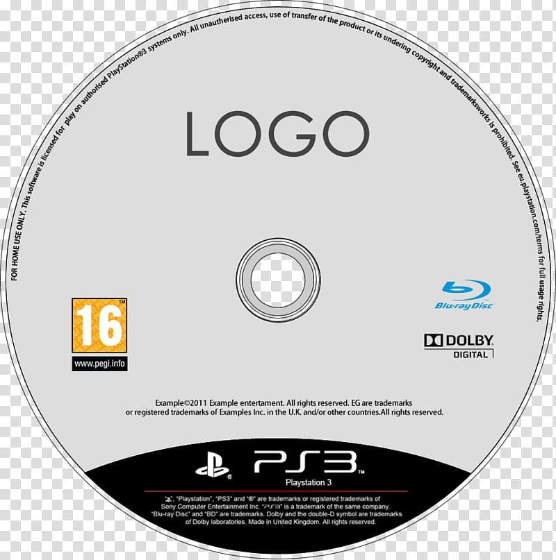 Latest PS Disc Template FW file, Logo PS disc transparent.