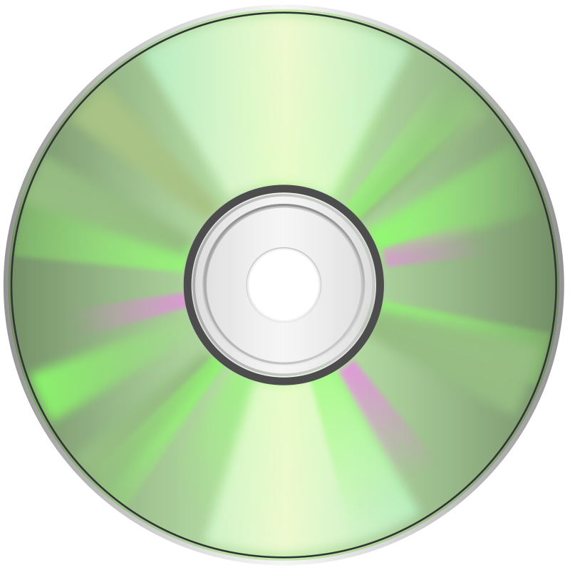 Free Clipart: CD.