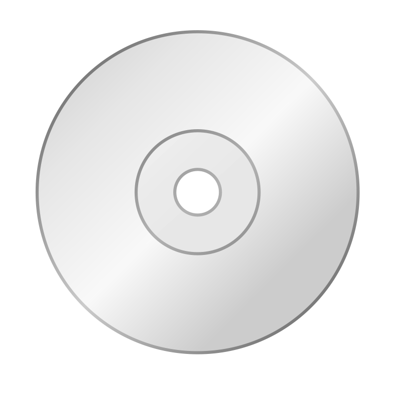 Free Clipart: CD icon.