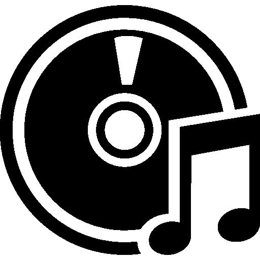 Music cd Icons.
