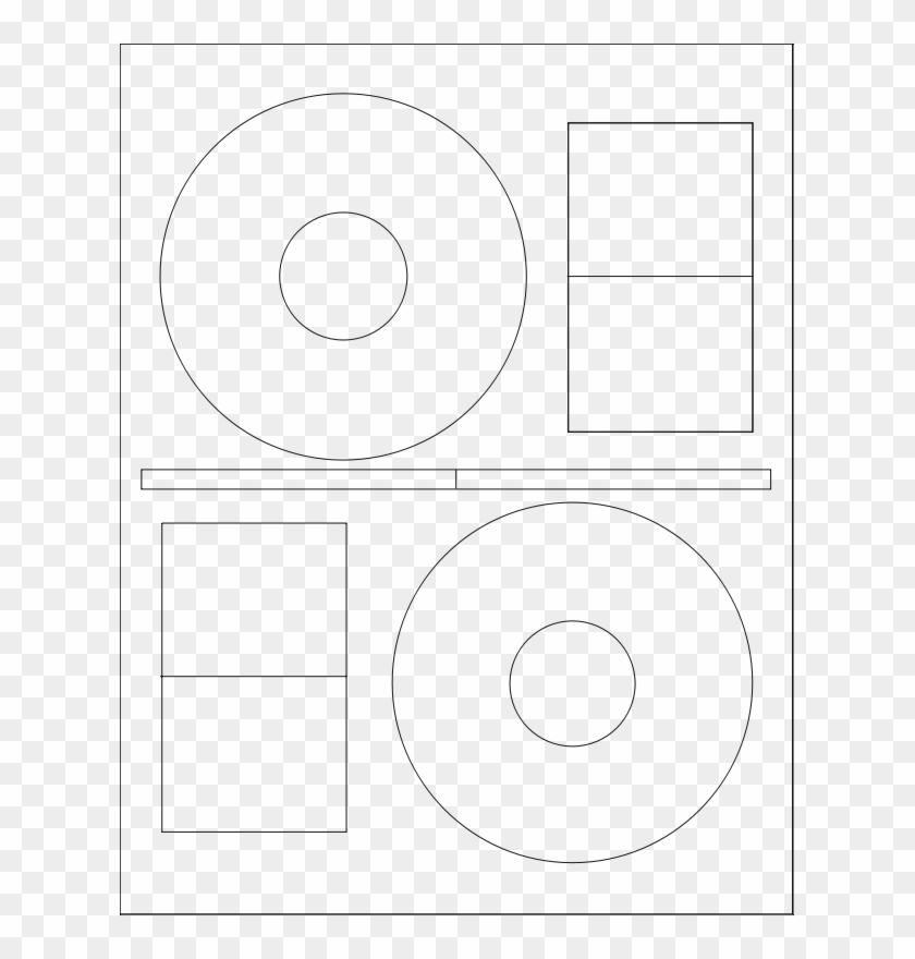 Label 3a Cd Dvd A4 Cd Dvd Labels Cd Label Template.