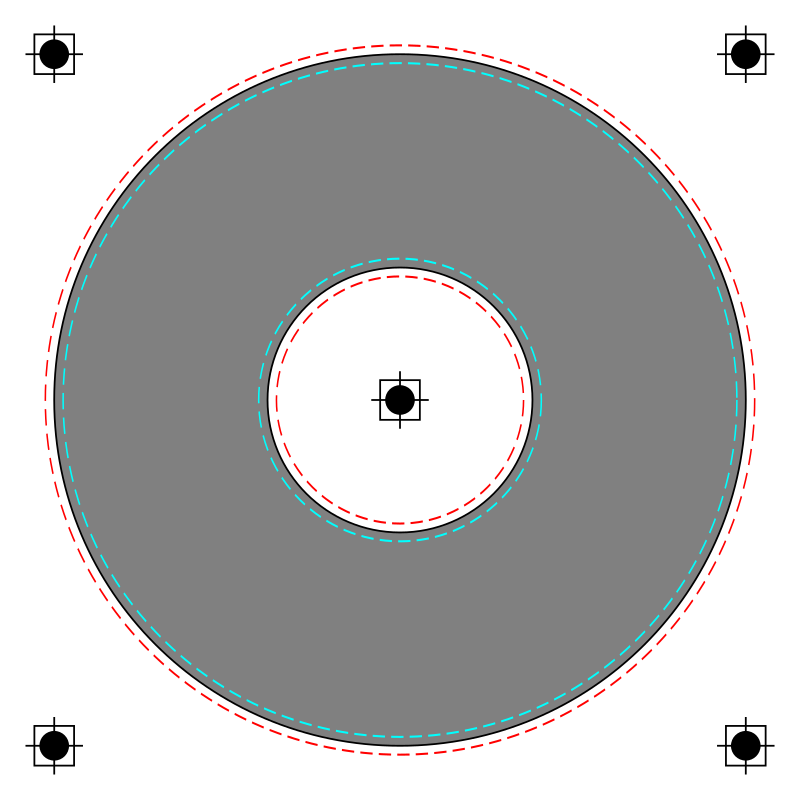 Download Free png CD label template.