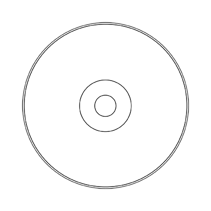 DVD Case and Label Template.