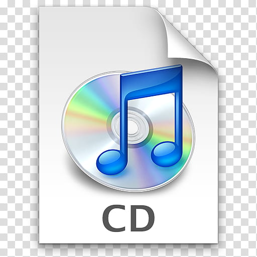 ILeopard Icon E, CD, CD disc transparent background PNG.
