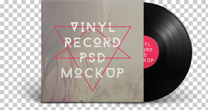 Mockup Phonograph record Graphic design, CD PNG clipart.