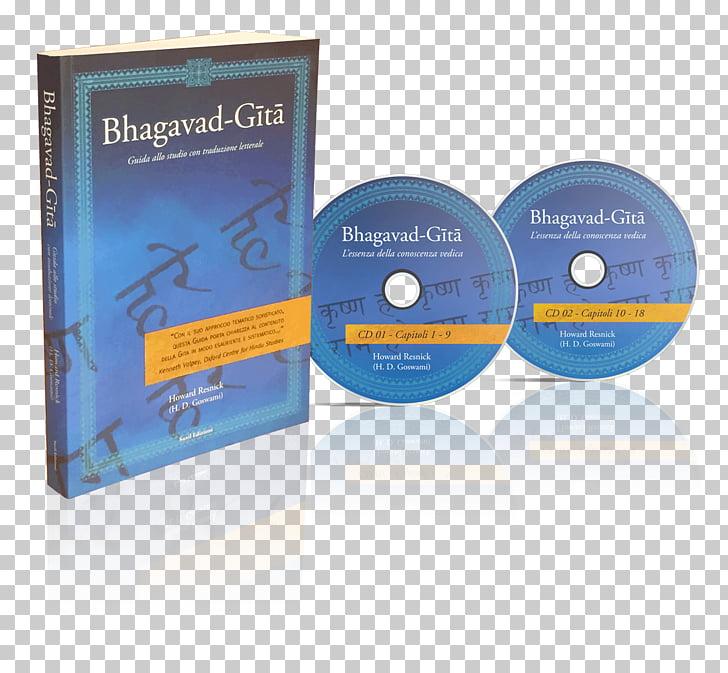 Bhagavad Gita Compact disc Book Industrial design Mockup.