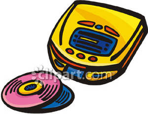 CD Player and Two CDs.
