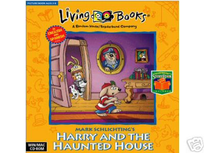 Living Book Harry and the Haunted House cd.
