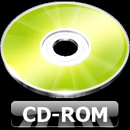 CD ROM Icon.
