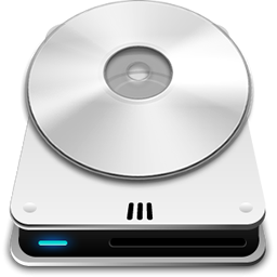 CD Rom Drive Icon.