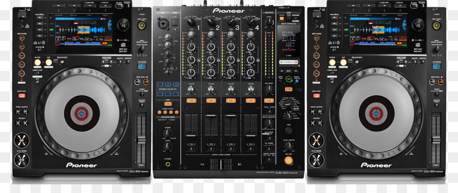 Cdj Audio Receiver png download.