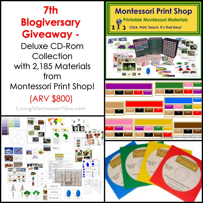 7th Blogiversary Giveaway.