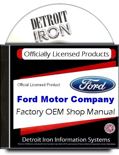 Ford Truck Factory Shop Manuals 1909.