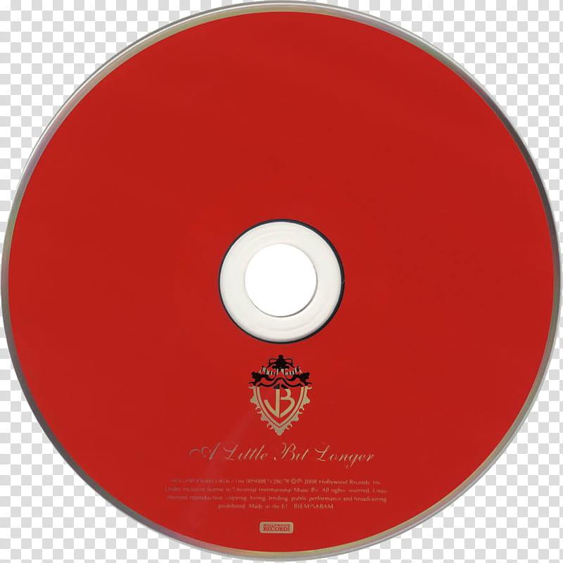 CDS, Jonas Brothers A Little Bit Longer CD album disc transparent.