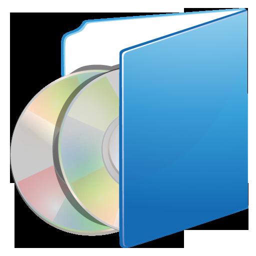 Cds, folder icon.
