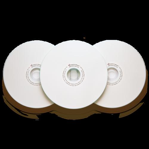 Encrypted CDs & DVDs.