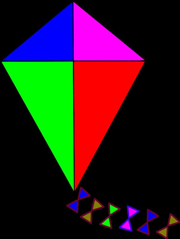 Kite Vector Clipart.