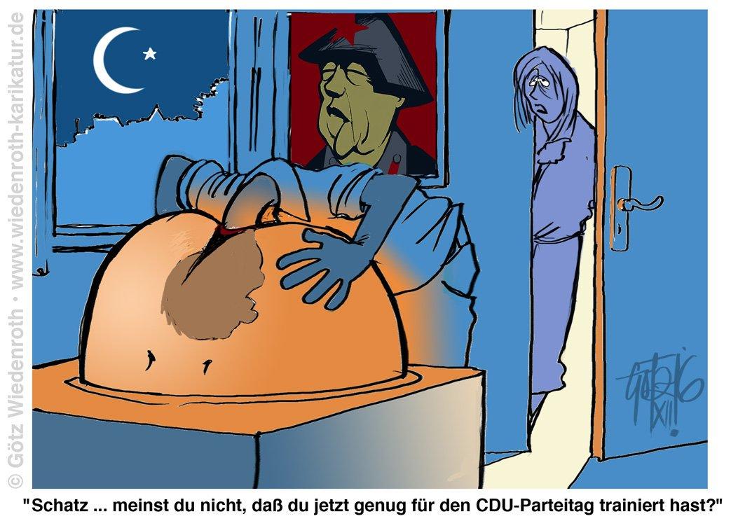 """Alice Schmarotzer on Twitter: """"Deppen der #cdu, #csu, #spd, #linke."""