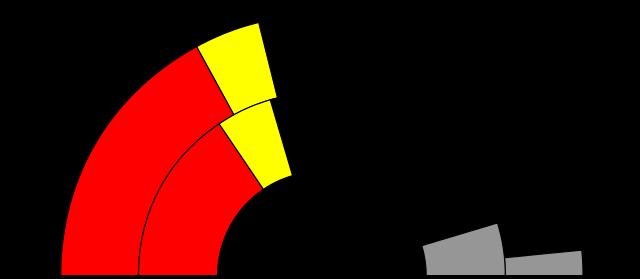 West German federal election, 1957.