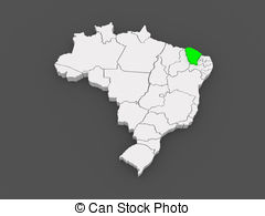 Map of ceara brazil Illustrations and Clipart. 45 Map of ceara.