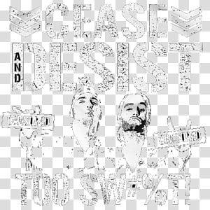 Cease And Desist transparent background PNG cliparts free.