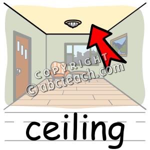 Ceiling Clip Art.