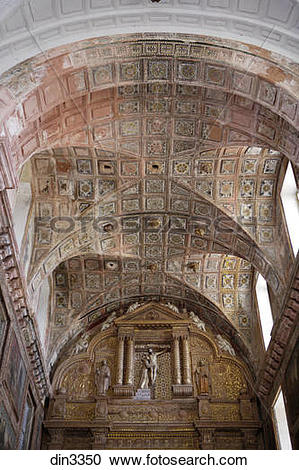 Stock Photography of Ceiling Decoration Of Church Of St. Francis.