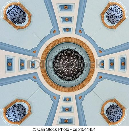 Stock Photography of Ceiling Design.
