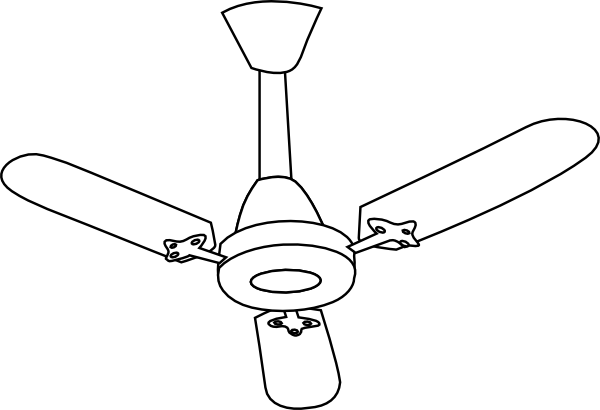 Best Ceiling Fan Clipart #20710.