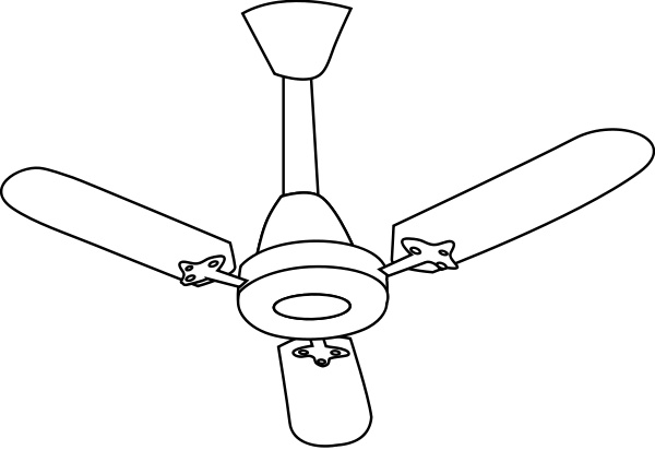 Ceiling Fan Clipart.