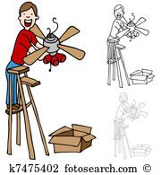 Ceiling fan Clip Art Royalty Free. 90 ceiling fan clipart vector.