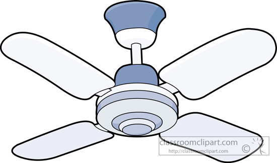 Ceiling Fan Clipart.